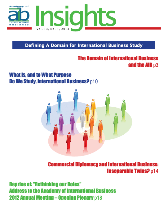 aib insights volume 13 issue 1 cover