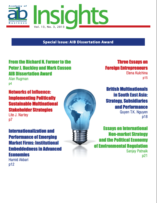 aib insights volume 13 issue 3 cover