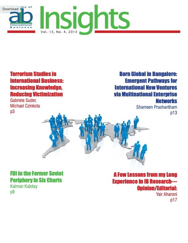 aib insights volume 13 issue 4 cover