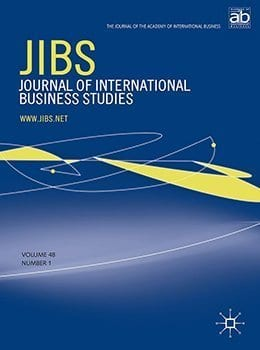 journal of international business study cover graphics