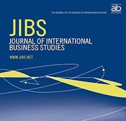 Cover Design of the Journal of International Business Studies