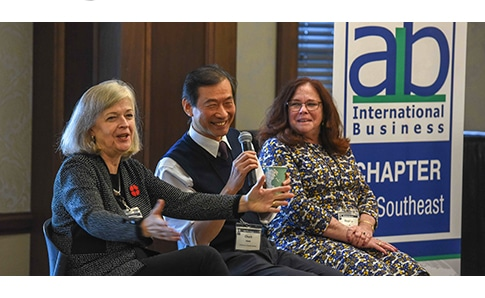 A special presidential panel at the AIB US-Southeast Chapter Conference