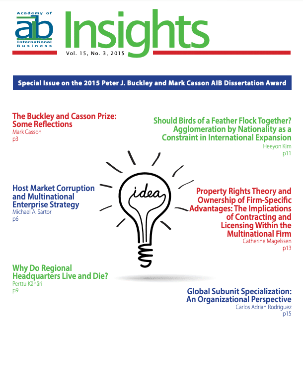 aib insights volume 15 issue 3 cover