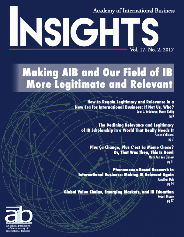 aib insights volume 17 issue 2 cover