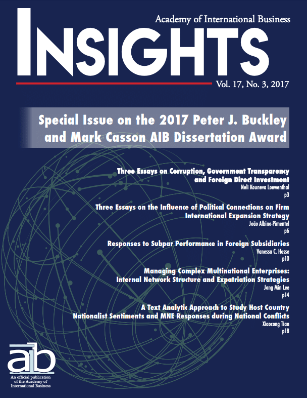 aib insights volume 17 issue 3 cover