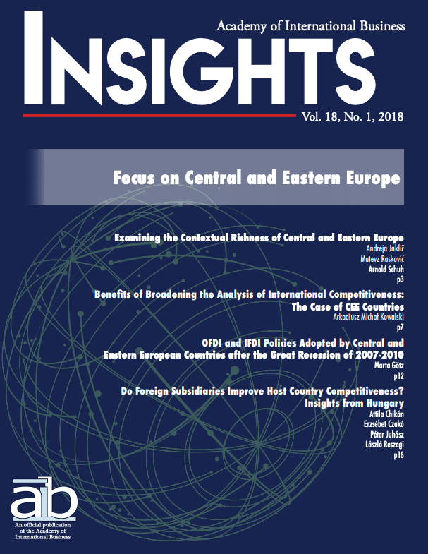 aib insights volume 18 issue 1 cover