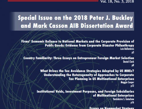 AIB Insights: Vol. 18, Issue 3
