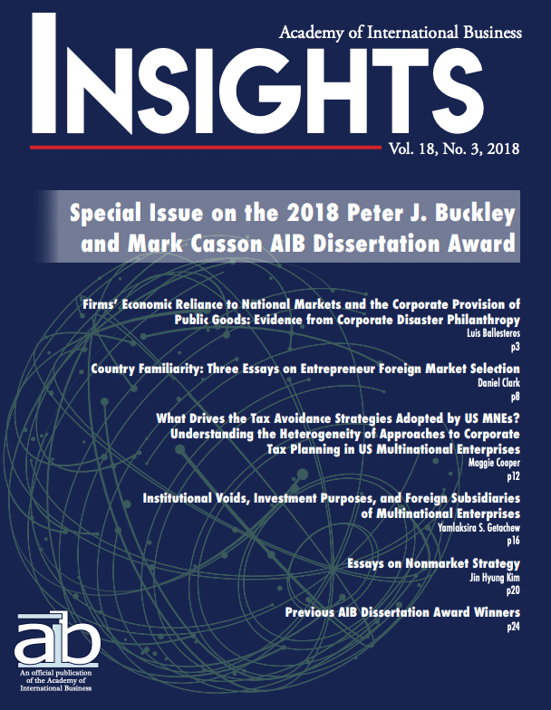 aib insights volume 18 issue 3 cover