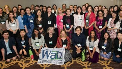 Group photo of the Women in AIB Shared Interest Group