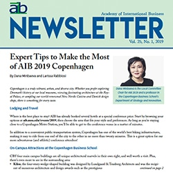aib newsletter cover first quarter 2019