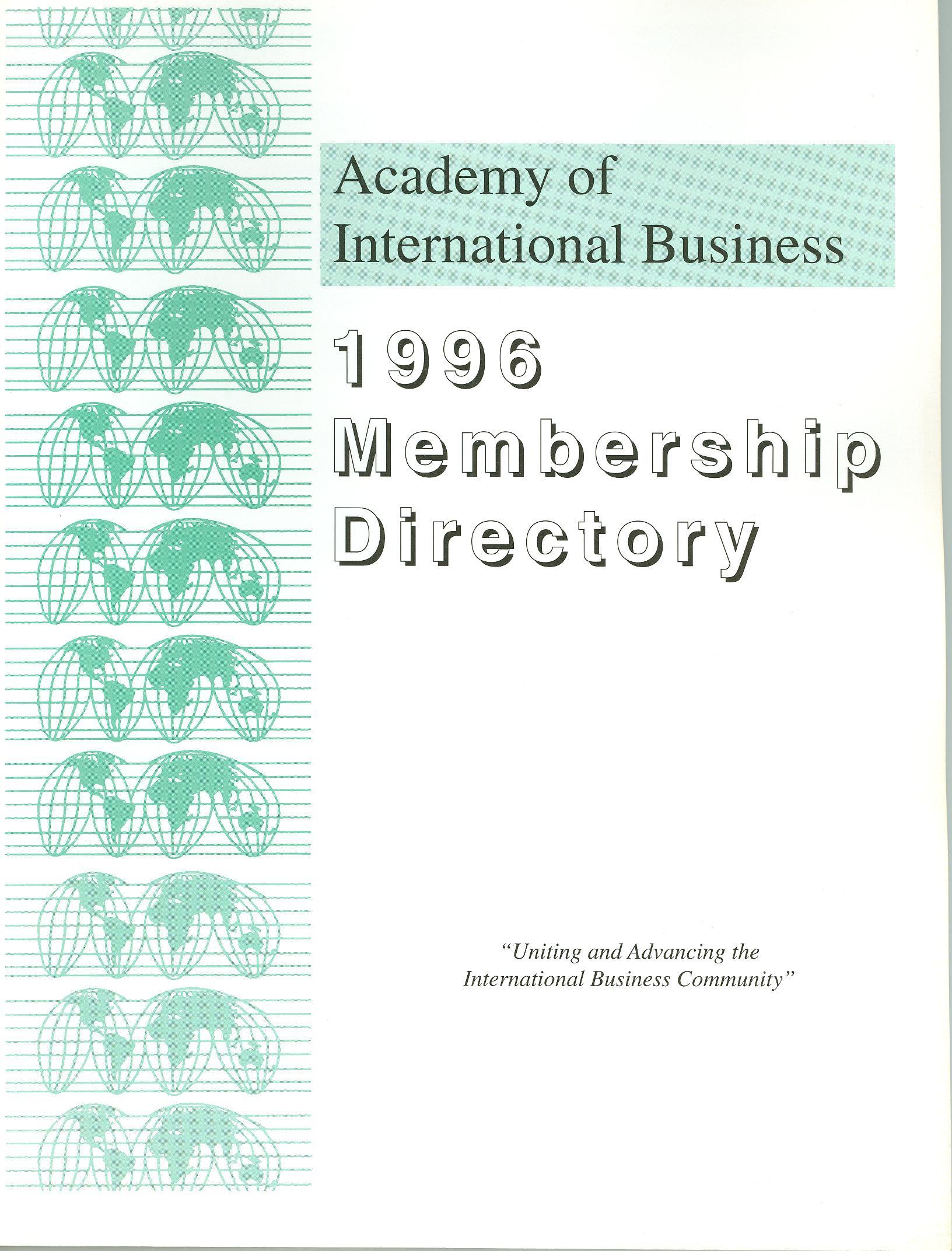1996 AIB Member Directory