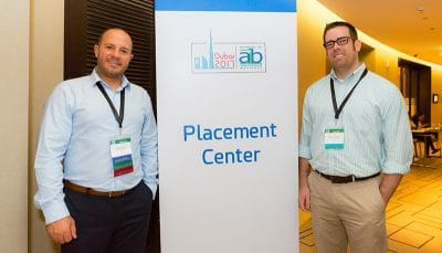 placement center staff at aib 2017
