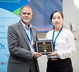 2019 emerging economies research award
