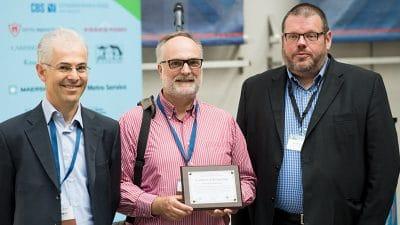 teaching and education award presentation at aib 2019
