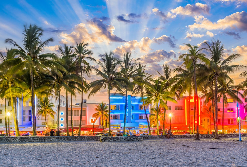 miami florida, host city of AIB LAC's 2021 chapter conference