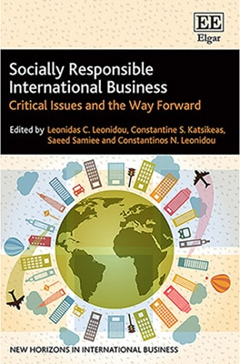 socially responsible international business cover design
