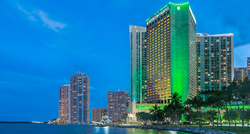 AIB 2020 Conference venue, the InterContinental Miami Hotel