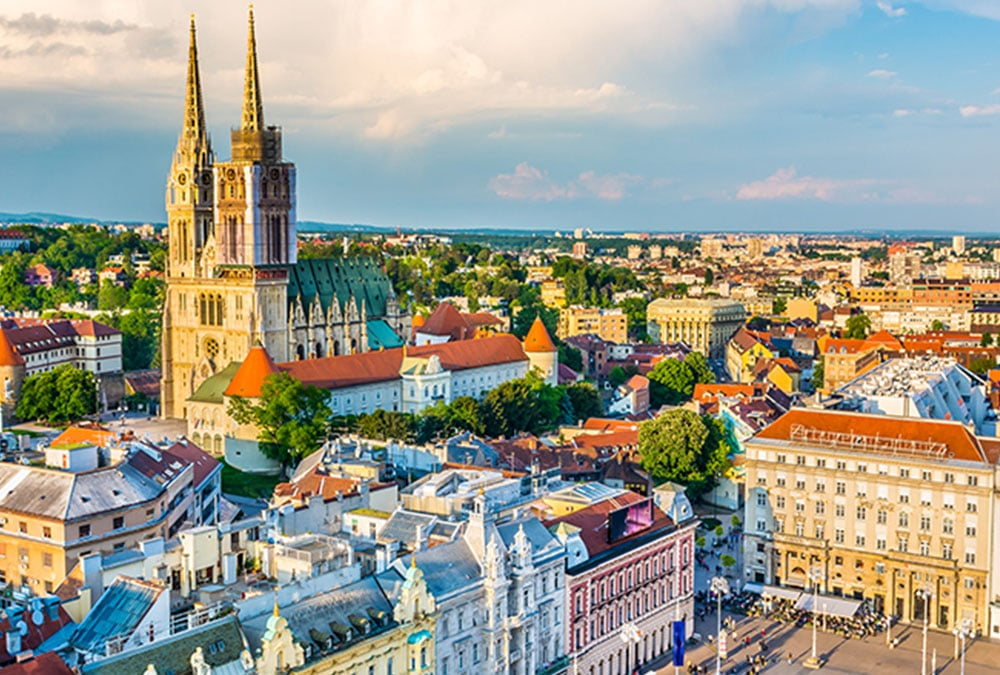 zagreb, croatia, host city of AIB Central and Eastern Europe's 2020 Chapter Conference