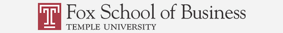 temple university's fox school of business logo