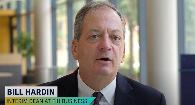 Florida International University College of Business Interim Dean Bill Hardin