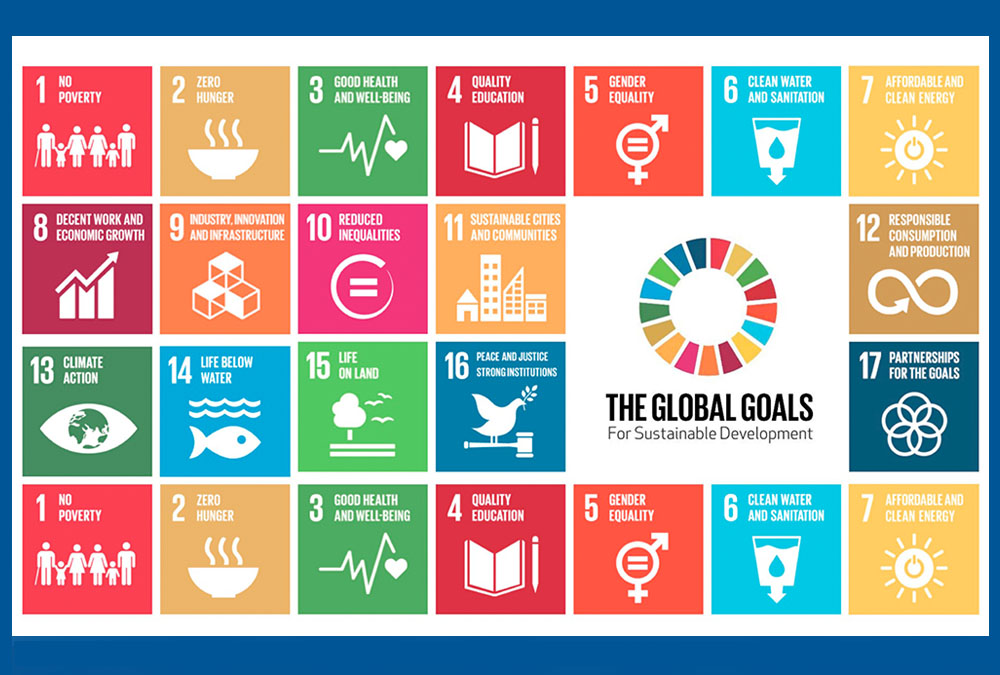 graphic depicting the united nations sustainable development goals