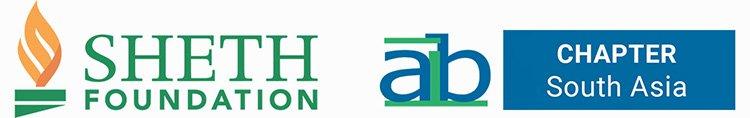 AIB South Asia and Sheth Foundation logos