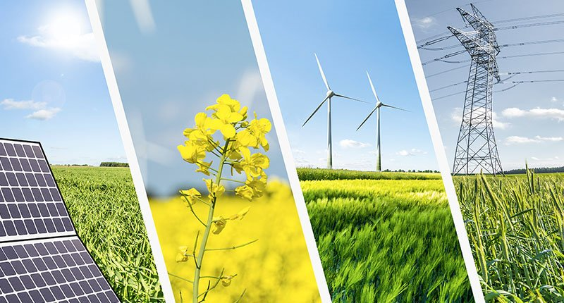 pictures of different sources of green energy