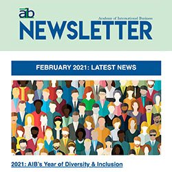 AIB newsletter issue 1, 2021 cover