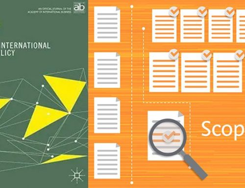 Journal of International Business Policy Accepted for Inclusion in Scopus Index